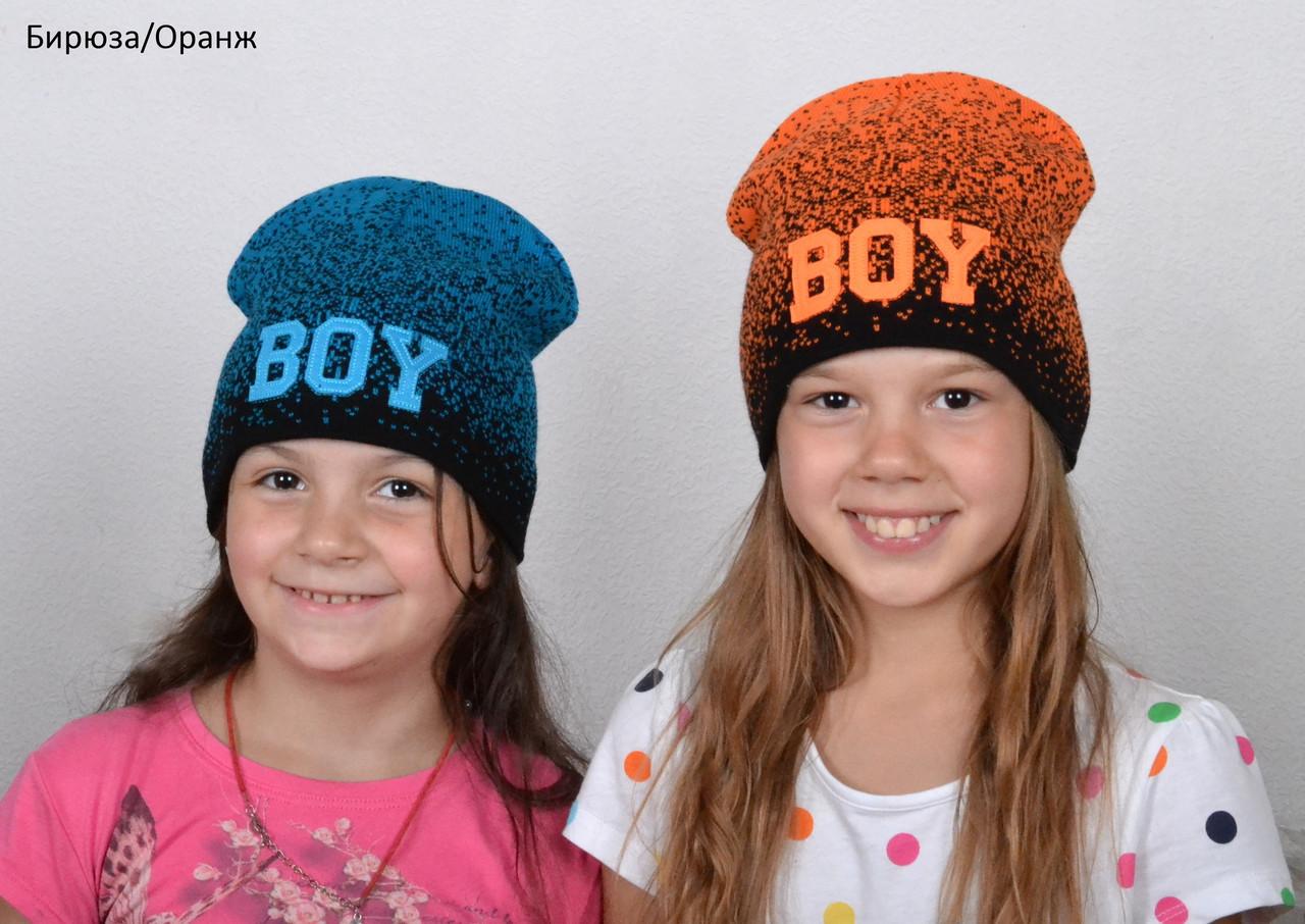 Весенняя модная шапка для девочки