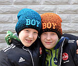 Весенняя модная шапка для девочки , фото 3