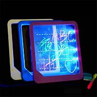 ЭлектронныеСветодиодныйФлуоресцентныеПисьменнаядоскаСветящиеся Wordpad почерк Pad для детей Подарочные игрушки