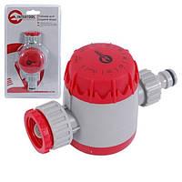 """Таймер для подачи воды с сеточным фильтром, внутренней резьбой на входе 3/4"""", 15;30;45;60;75;90;105;120мин, на конектор 1/2"""", автомат.отключение"""