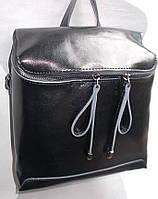 Женский кожаный рюкзак 8557 Черный кожаные рюкзаки купить в Одессе 7 км