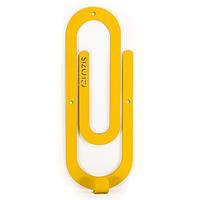 Настенный крючок для одежды Glozis Clip Yellow