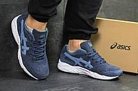 Кроссовки мужские Asics Gel Lyte кроссовки темно-голубые-Замша,подошва пена,размеры:41-45 Вьетнам, фото 1