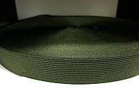 Тесьма окантовочная 23 мм (лямовка) хаки