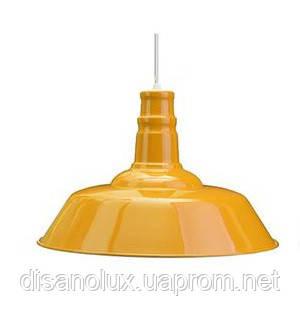 Светильник подвес LOFT 7529520-1  Ф36см  желтый