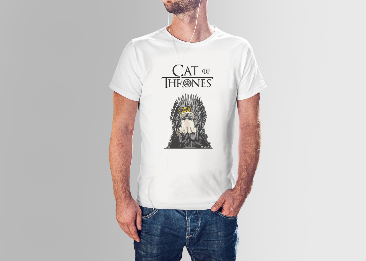 Футболка мужская Cat of Thrones