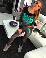 Женский костюм велюр Хамелеон, женские спортивные костюмы из бархата оптом