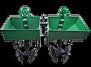 """Картофелесажалка двухрядная """"Володар"""" КСН-90 (3т) (90 л, для минитрактора под 3-х точечную навеску) с бункером, фото 3"""