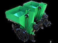 """Картофелесажалка двухрядная """"Володар"""" КСН-90 (3т) (90 л, для минитрактора под 3-х точечную навеску) с бункером"""