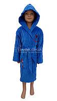 """Детский махровый халат для мальчика (100%-хлопок) Piramit """"Spiderman"""", фото 1"""