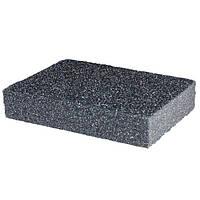 Губка для шлифования 100*70*25 мм, оксид алюминия К80 HT-0908 Intertool