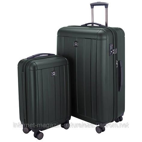Набор чемоданов Hauptstadtkoffer Kotti темно-зеленый матовый , фото 2