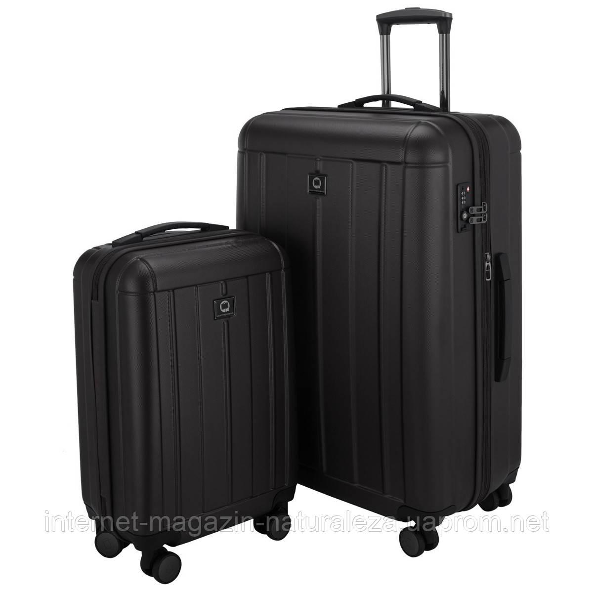 Набор чемоданов Hauptstadtkoffer Kotti черный матовый