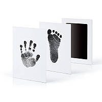 Новорожденный детский отпечаток фоторамки Набор Non-Toxic Clean Touch Ink Pad