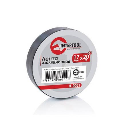 Лента изоляционная 0.15мм*17мм*25м черная IT-0026 Intertool, фото 2