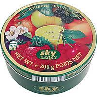 Леденцы (конфеты) Bonbons Fruit  (микс фруктовый) Sky  Германия 200г