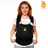 Эрго-рюкзак Optima - Блек, фото 1