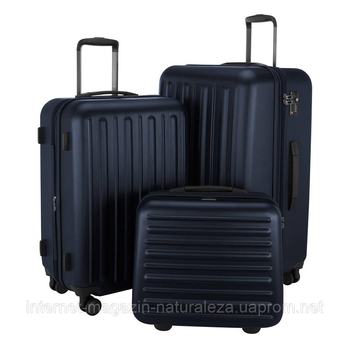 Набір валіз Hauptstadtkoffer Tegel темно-синій