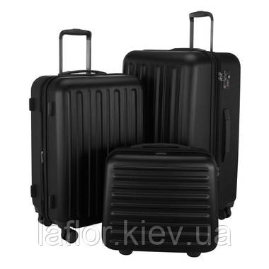 Набір валіз Hauptstadtkoffer Tegel чорний