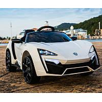 Детский электромобиль M 3608 EBLR-1: 2.4G. EVA-колеса, 60W, кожа - БЕЛЫЙ - купить оптом , фото 1
