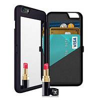ЗеркальныйслотдлякартпамятиКоробка с обратной связью ПК Чехол для iPhone6Plus/6sPlus