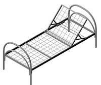 Кровать металлическая функциональная
