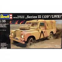 Сборная модель Revell Автомобиль British 4x4 Off-Road Vehicle 109 1:35 (3246)