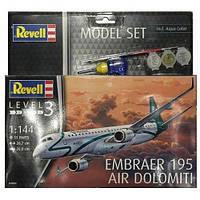 Сборная модель Revell Самолет Embraer 195 1:144 (64884)