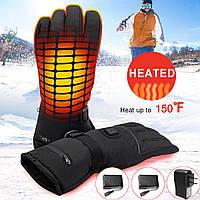 7.4V 2200MAH Умный подогрев Перчатки Мужчины Женское Зимние электрические тепловые теплые спортивные перчатки