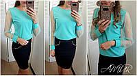 Блузка женская (цвета) СЕР216