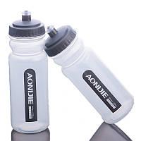 600ml На открытом воздухе Прозрачная бутылка воды Езда на велосипеде Бегущая бутылка воды Спортивная бутылка