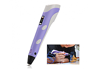 3D ручка 2-го поколения, 3D Pen-2, 3Д ручка рисования пластиком