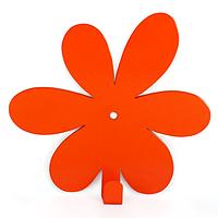 Настенный крючок для одежды Glozis Flower Orange, фото 1