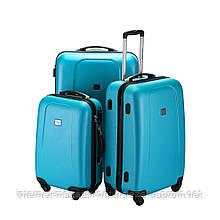 Набор чемоданов Hauptstadtkoffer Wedding голубой