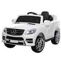 Детский электромобиль M 3568 EBLR-1 (Mercedes ML 350): 70W, 6 км/ч, EVA, кожа - БЕЛЫЙ - купить оптом , фото 1