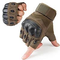 Тактический Перчатки Военный Fingerless Hard Rubber Knuckle Half Finger