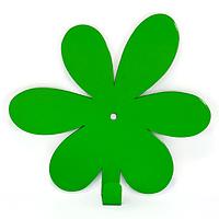 Настенный крючок для одежды Glozis Flower Green, фото 1