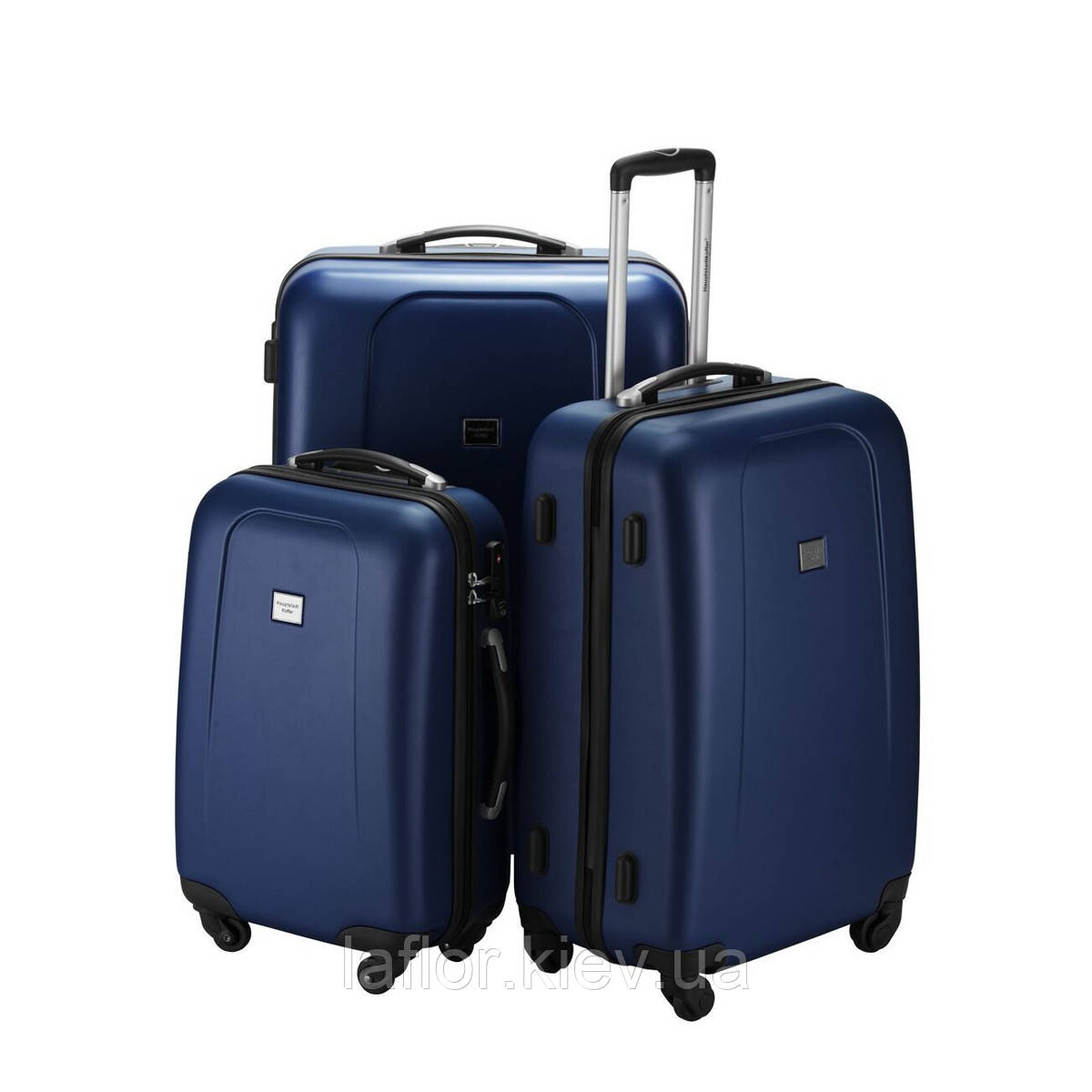 Набор чемоданов Hauptstadtkoffer Wedding темно-синий