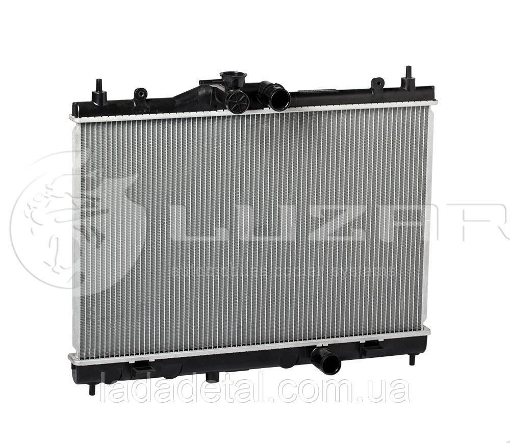 Радиатор охлаждения Nissan Tiida Ниссан Тида 1.5/1.6/1.8 (04-) МКПП 21410-EL000