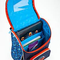Рюкзак шкільний каркасний Kite Super car K18-501S-5, фото 3