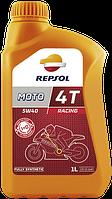 Мото масло 5W40 REPSOL MOTO RACING 4T (Репсол 5W40) синтетика для спорта и мощных мотоциклов