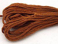Нитки мулине Гамма (Gamma) для вышивания №0002 Коричневый