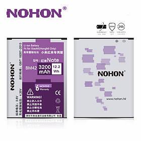 Аккумулятор Nohon BM42 для Xiaomi Redmi Note (ёмкость 3200mAh)