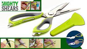Ножницы, 10 в 1, отвёртка, орехи колка, очиститьль, овощей, рыбы, кости резка, нож, мощные, кухонные