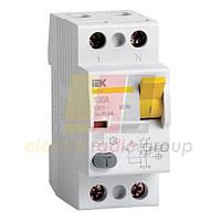 Пристрій захистного відключення ВД1-63 2п 16А 30мА IEK