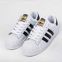 Мужские кроссовки в стиле Adidas Superstar (41, 42, 43, 44 размеры)