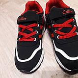 Кроссовки подростковые для мальчика Callion Турция р - р 33, фото 5