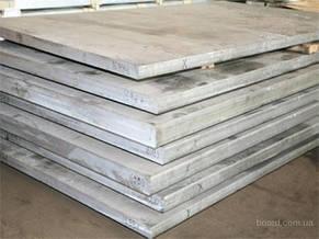 Алюминиевая плита Д16  - 20 мм, фото 2