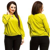 Блузка женская молодежная большие размеры АНД5042, фото 1