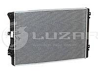Радиатор охлаждения Skoda Superb (08-)/Passat B6 (05-)/Golf V (03-)/Golf VI (08-) 1.4T/1.8T/2.0T МКПП/АКПП